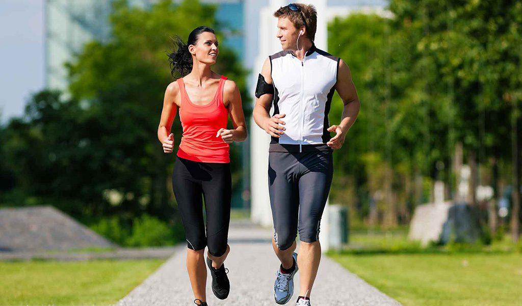 Jogging - a pledge of harmony, health and longevity