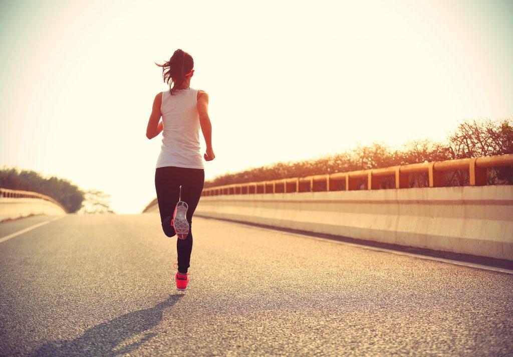 jogging technique